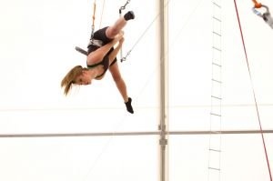 Stormi was incredible at trapeze.